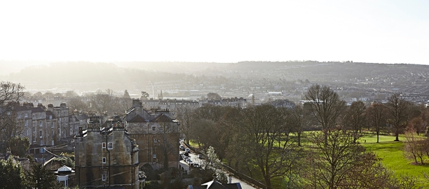 Panoramic View of Bath