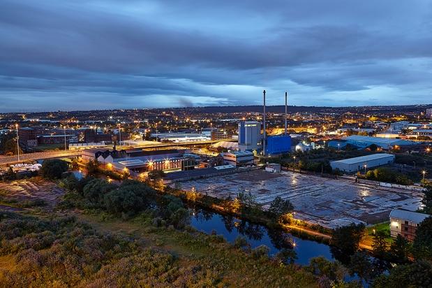 A Evening View of Leeds