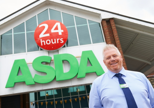 The manager of Asda superstore Norwich photographed for The Grocer magazine. This PR job was passed to me via Harrington Photography.